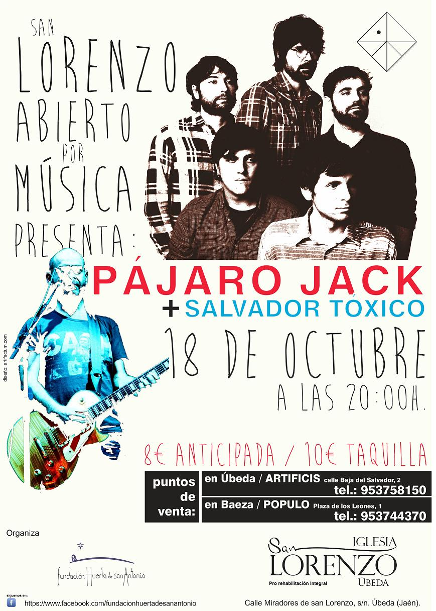 CARTEL PAJARO JACK OPT