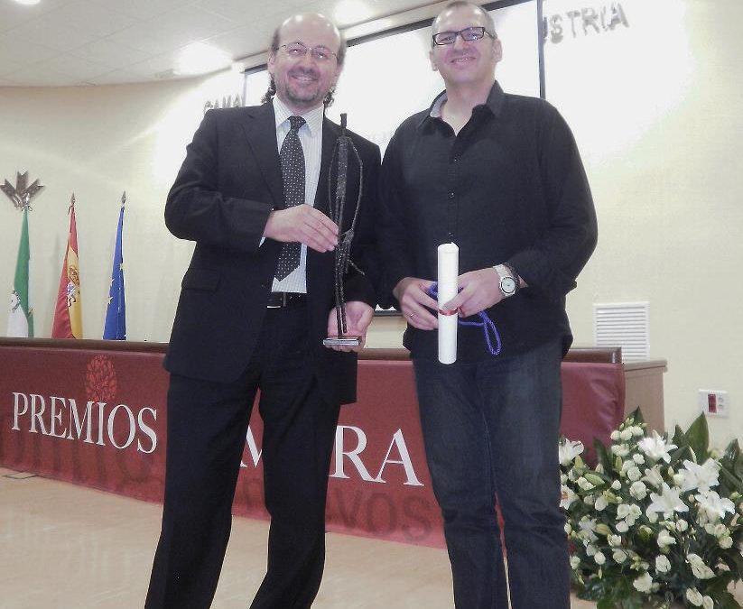 Artificis, Premio del Sector Turismo de la Cámara de Comercio 2012