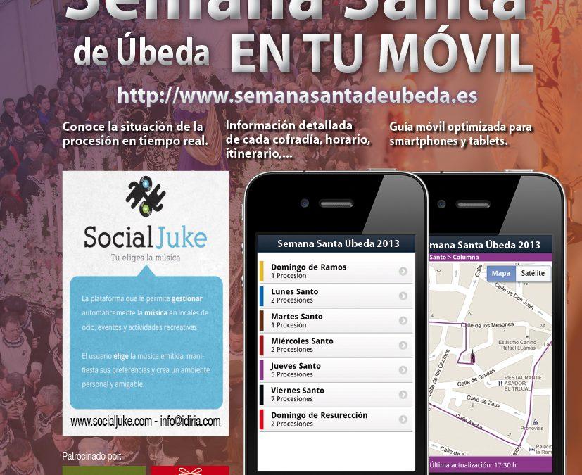 Descarga aquí las aplicaciones web y Android para la Semana Santa de Úbeda 2013