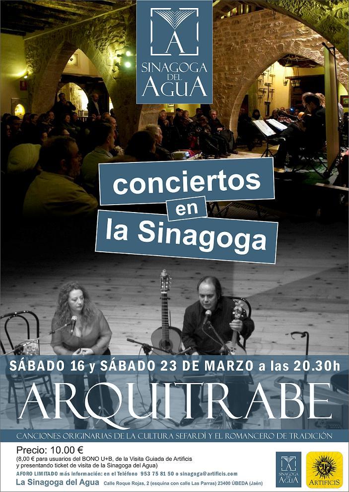 cartel conciertos en la sinagoga opt