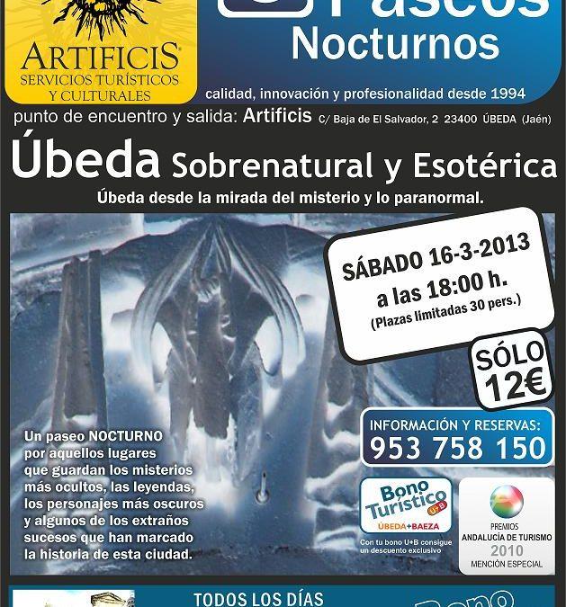 Ruta Esotérica este sábado en Úbeda