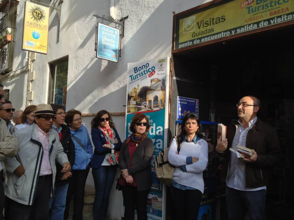 ruta literaria el jinete polaco artificis Ubeda