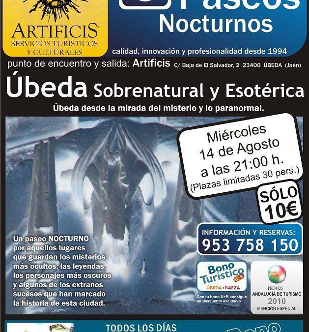 Ruta sobrenatural y esotérica por Úbeda
