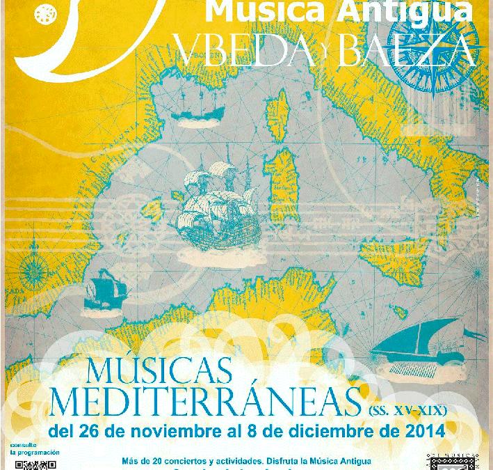 Festival de Música Antigua de Úbeda y Baeza XVIII edición