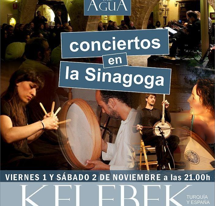 Concierto de Kelebek en la Sinagoga del Agua