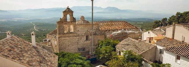 La Catedral de Santa María de Vitoria exporta a Jaén su «abierto por obras»