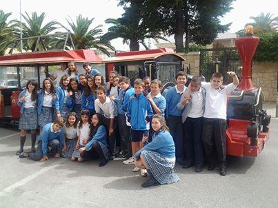 El Tren Turístico de Úbeda premia el esfuerzo de los Colegios