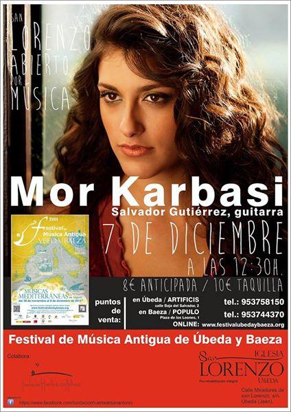 Mor Karbasi en San Lorenzo con el Festival de Música Antigua de Úbeda y Baeza