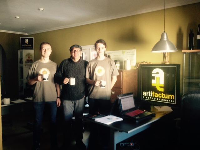 Artifactum y Artificis despedimos a nuestros Becarios Polacos de Euromind Krystian y Bartek