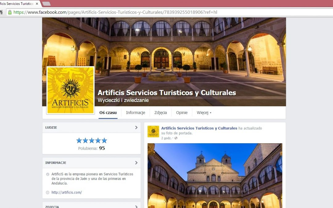 Nueva pagina de ArtificiS en Facebook