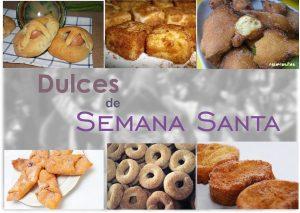 Dulces Semana Santa