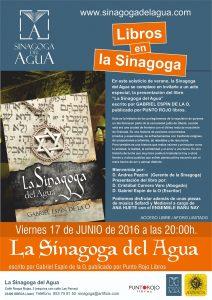 """Presentación """"La Sinagoga del Agua"""", el libro."""