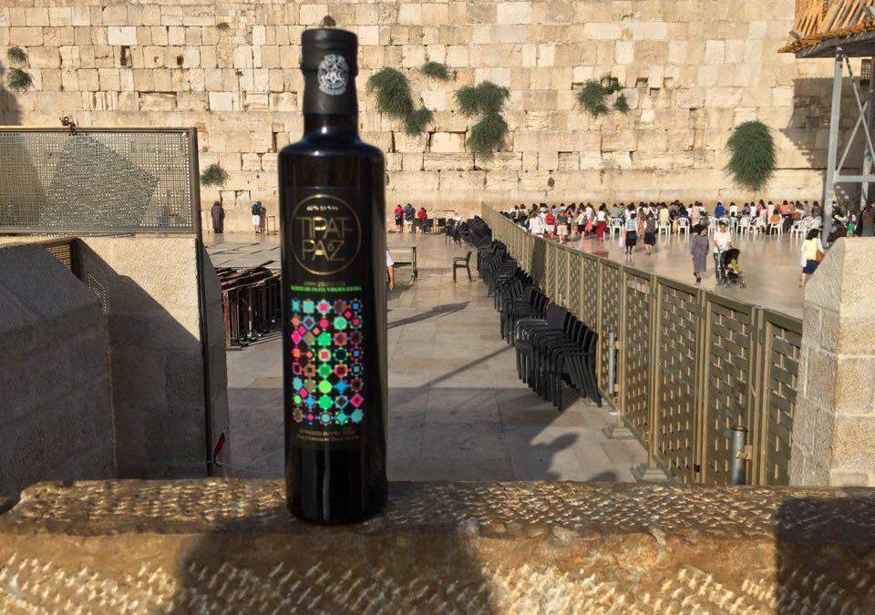Tipat Paz en el Muro de las Lamentaciones
