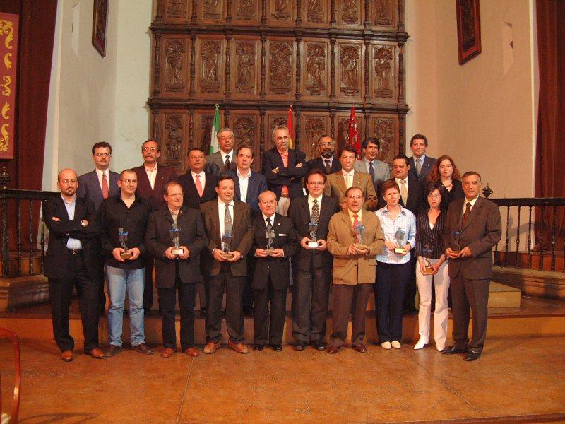 Premio Chache 2002. Jóvenes emprendedores.