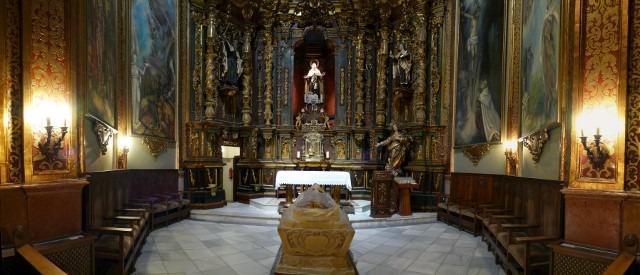 Sala 2: Oratorio de San Juan de la Cruz.