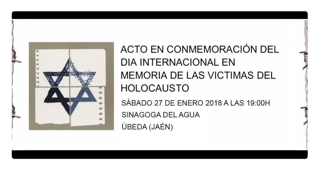 Día Internacional en Memoria de las Víctimas del Holocausto. AUSCHWITHZ
