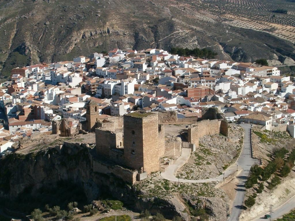 castillos de Jaén