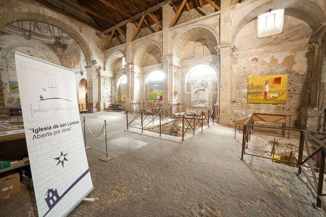 San Lorenzo… «Abierto por Obras».