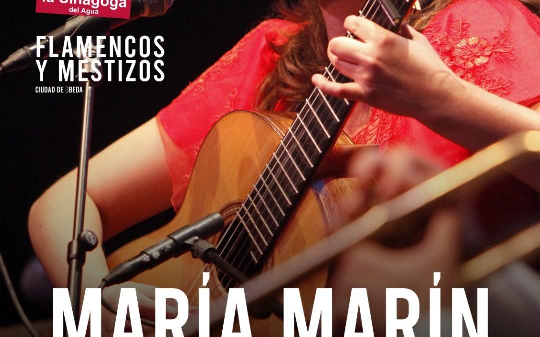 Flamencos y Mestizos, María Marín en la Sinagoga del Agua